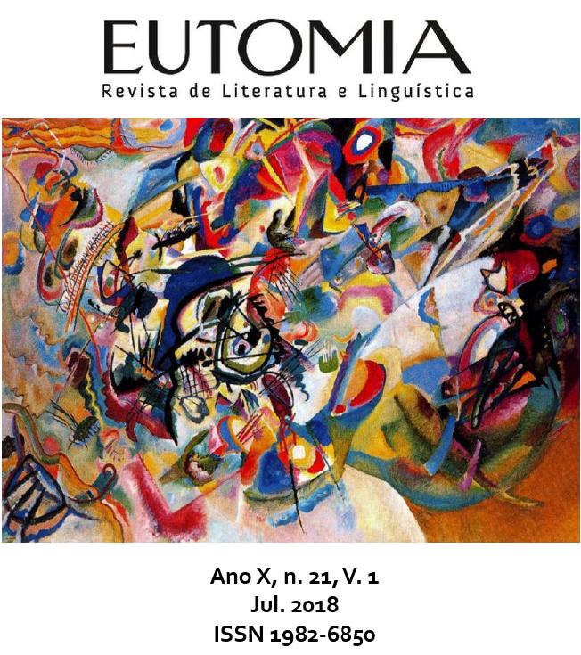 """Capa da Edição n. 21 da Revista Eutomia. A capa traz a obra """"Composition VII"""", de Vasily Kandinsky."""