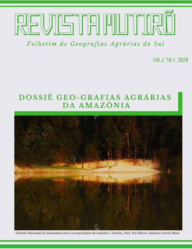 Dossiê Geografias Agrárias da Amazônia