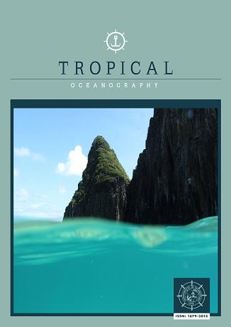 Capa da Revista Tropical Oceanography