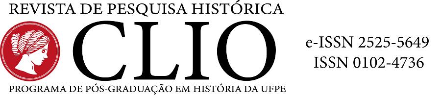 CLIO Revista de Pesquisa Histórica