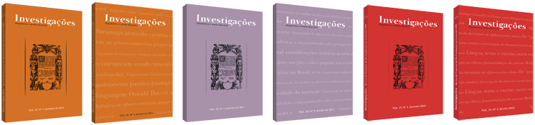 Revista Investigacoes - Linguística e Teoria Literária